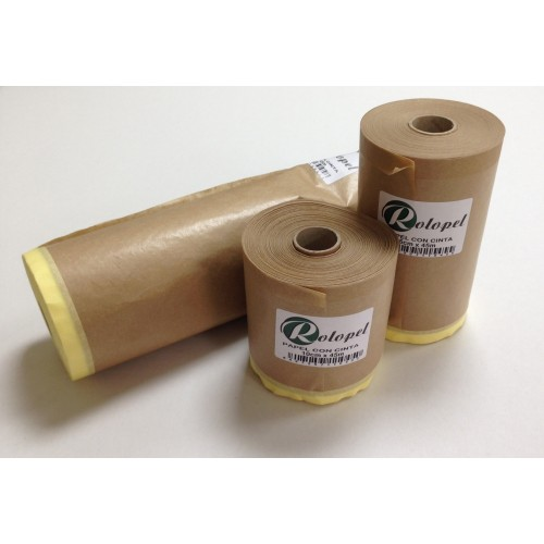 Papel con cinta Rolopel