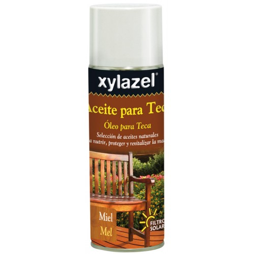 Xylazel Aceite para Teca Spray 400ml.