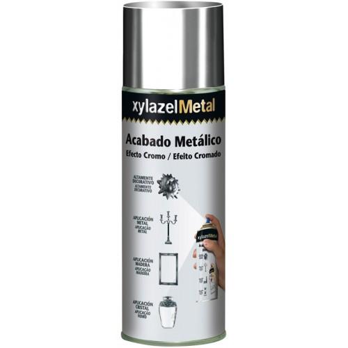 Xylazel Metal Acabado Metálico Efecto Cromo