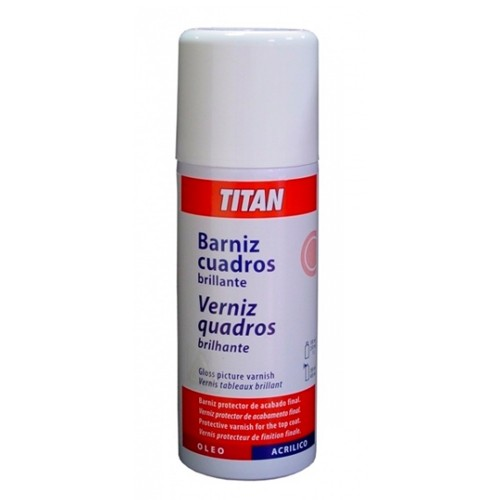 Spray Barniz Cuadros Brillante - 200ml.