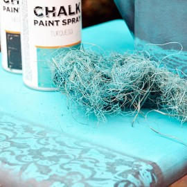 Spray decoración